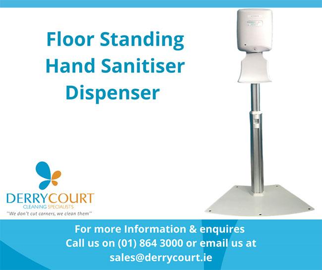 Floor Standing Hand Sanitiser Dispenser