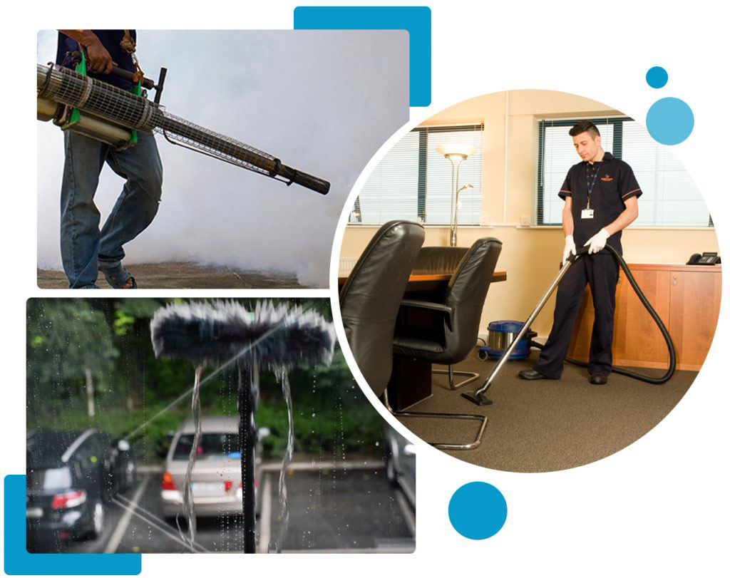 Floor Cleaning, Window cleaning and Pest Control